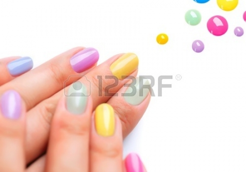 21289343-nail-polish-trendy-colourful-manicure